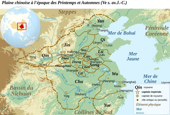 La Chine à l'époque des Royaumes Combattant