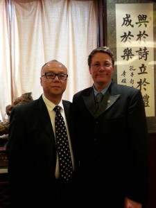 Rive Wong et Richard Taylor