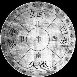 Une vision ancienne de la voute Céleste chinoise