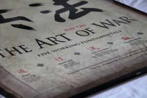 Les cinq facteurs de la guerre, communément présentés comme l'essence de la pensée de Sun Tzu