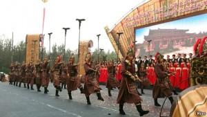 Défilé de la victoire en l'honneur de Sun Tzu
