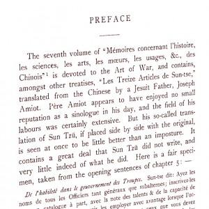 L. Giles ne portait vraiment pas haut dans son estime la traduction du père Amiot...